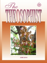 Theosophist Cover Volume 131 Number 09