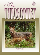 Theosophist Cover Volume 131 Number 11