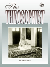 Theosophist Cover Volume 132 Number 01