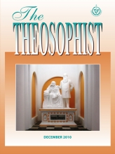 Theosophist Cover Volume 132 Number 03