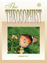 Theosophist Cover Volume 132 Number 04