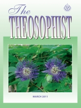 Theosophist Cover Volume 132 Number 06