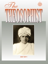 Theosophist Cover Volume 132 No 10