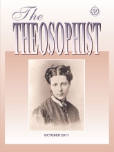 Theosophist Cover Volume 133 No 01