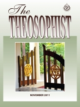 Theosophist Cover Volume 133 No 02