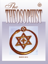 Theosophist Cover Volume 133 No 06