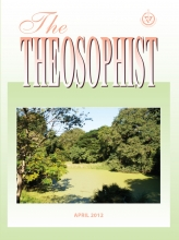 Theosophist Cover Volume 133 No 07