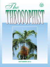 Theosophist Cover Volume 133 No 12