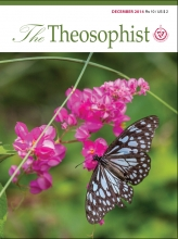 Theosophist Cover Volume 136 Number 03