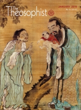 Theosophist Cover Volume 137 Number 04