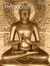 Theosophist Cover Volume 137 Number 09