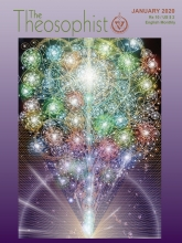 Theosophist Cover Volume 141 Number 04