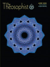 Theosophist Cover Volume 141 Number 09