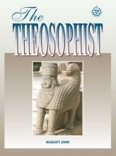 Theosophist Aug 2009 Cover image