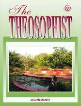 Theosophist Dec 2007 Cover Image