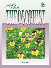 Theosophist Jul 2009 Cover image