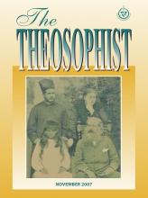 Theosophist Nov 2007 Cover Image