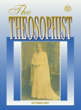 Theosophist Oct 2007 Cover Image