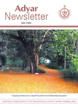 Adyar Newsletter May 2008 Cover Image
